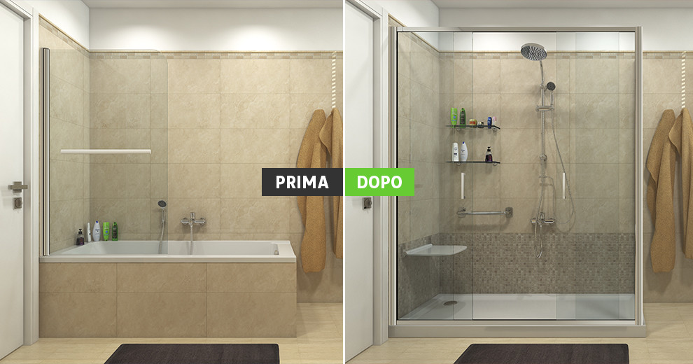 Parete doccia leroy merlin idee creative di interni e mobili - Vasche da bagno leroy merlin ...