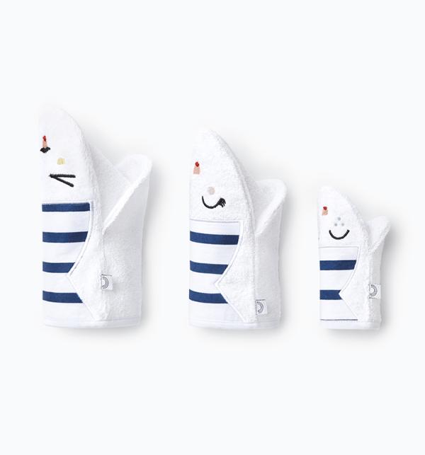 Set 3 gants rayés