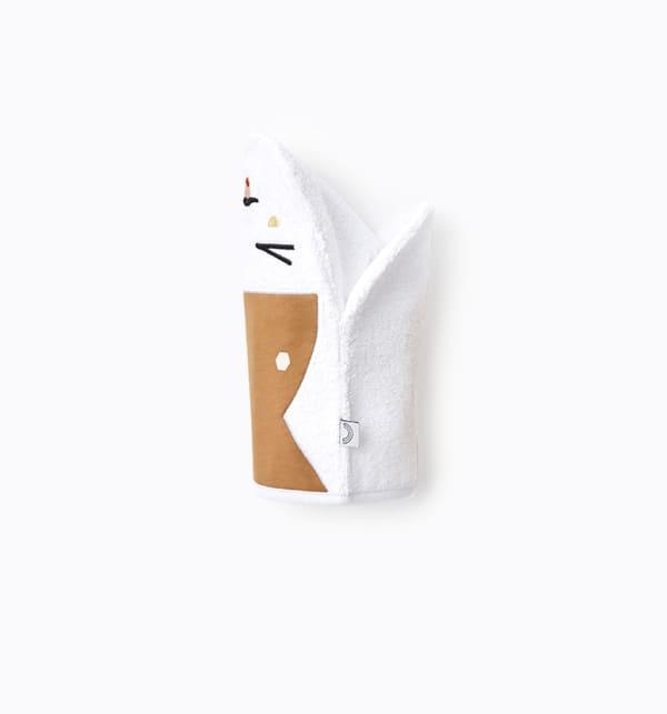 Gant de toilette marionnette papa camel