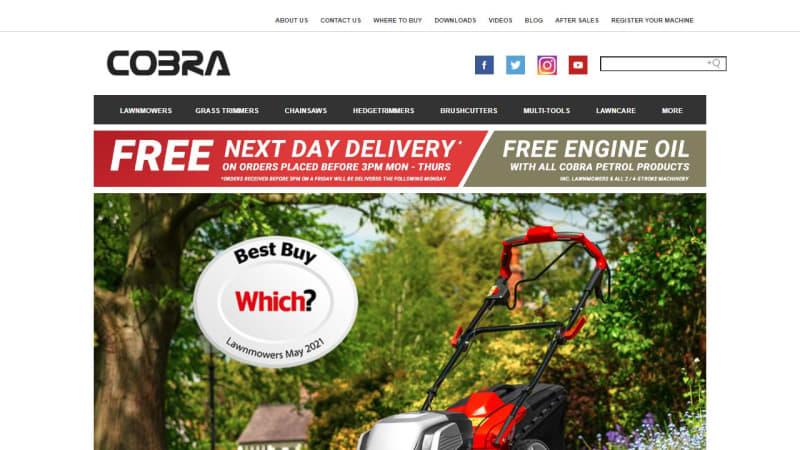 Cobra Mowbot800 Robotic Lawnmower