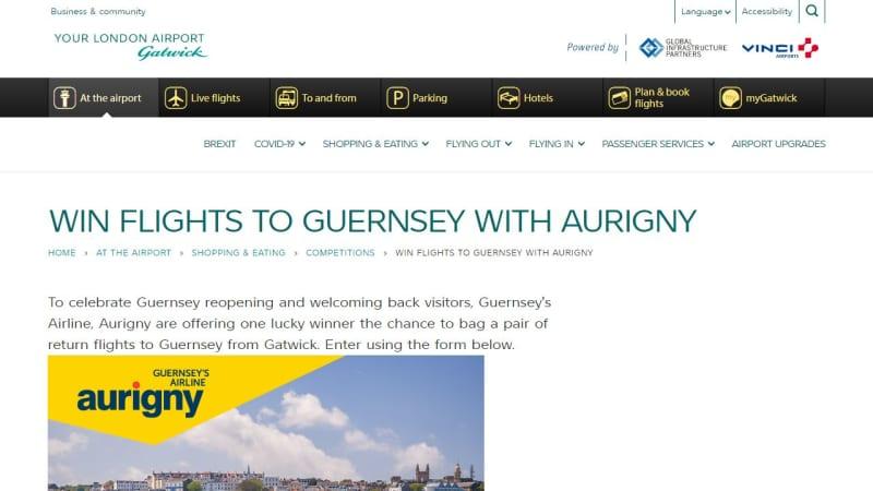 Flights To Guernsey