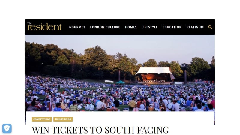 Tickets To South Facing Festival At Crystal Palace