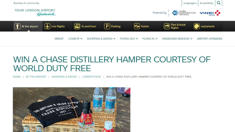 Chase Distillery Hamper
