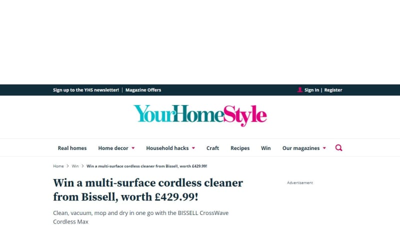 Bissell Multi-Surface Cordless Cleaner
