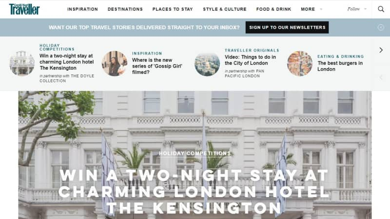 2 Night Stay At The Kensington Hotel