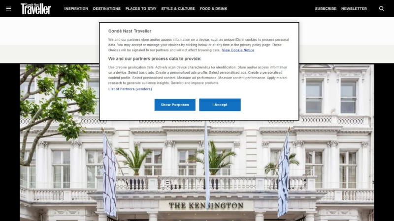 2 Night Stay For 2 At The Kensington, London