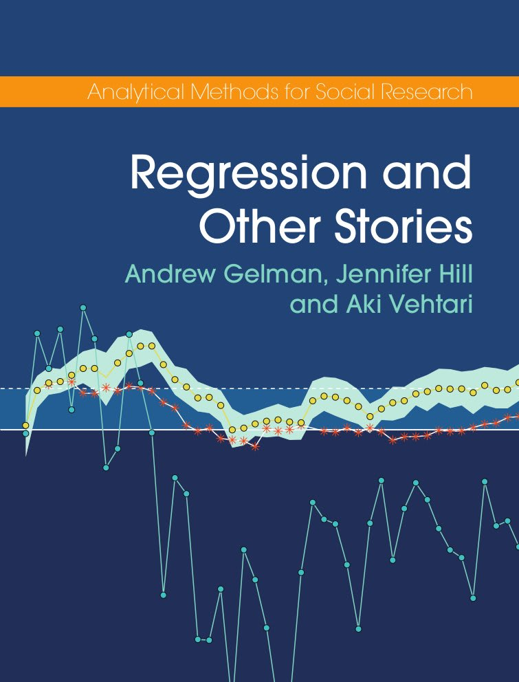 Book Review: Regression and Other Stories by Gelman, Hill, and Vehtari