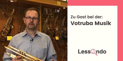 Titelbild von des Blogartikels Ein Musikhaus mit Tradition: Votruba Musikinstrumente
