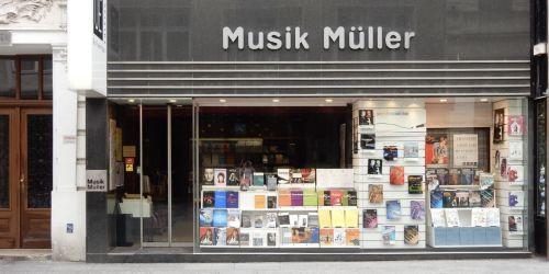 Titelbild von des Blogartikels Musik Müller in Wien: Warum Noten im Geschäft kaufen?