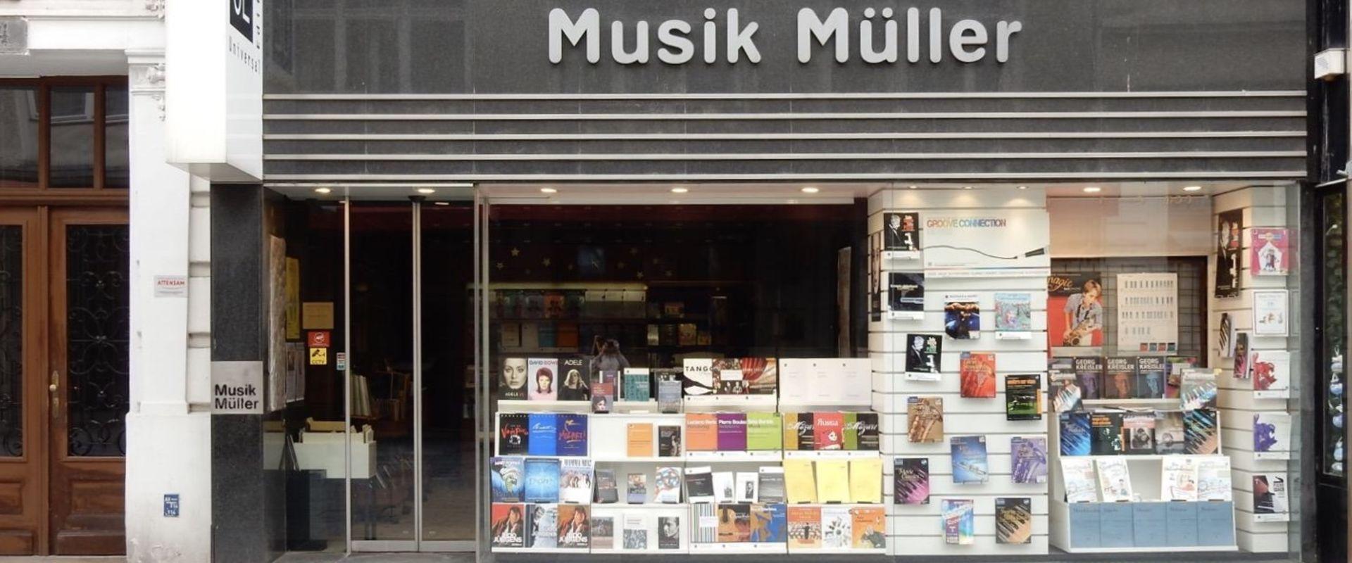 Titelbild des Blogartikels Musik Müller in Wien: Warum Noten im Geschäft kaufen?