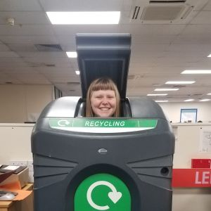 Image of Kathryn Irish to promote the recycling Q & A