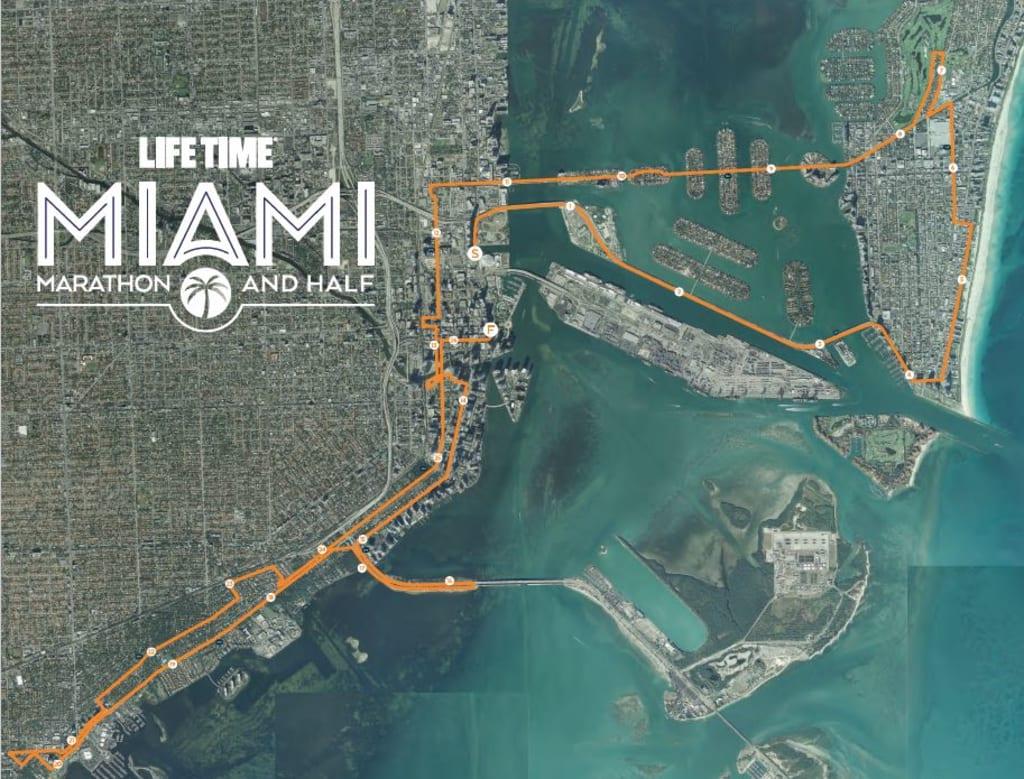 Life Time Miami Marathon and Half Marathon 2020 - Marathon