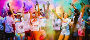 Colour Runs