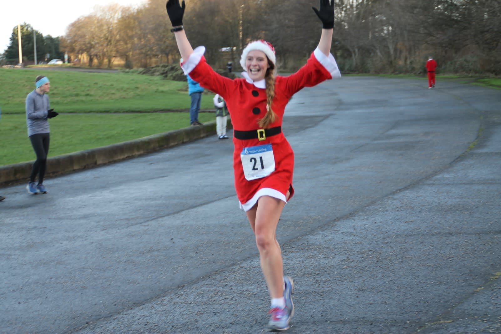 Santa Half Marathon, 7km and 14km