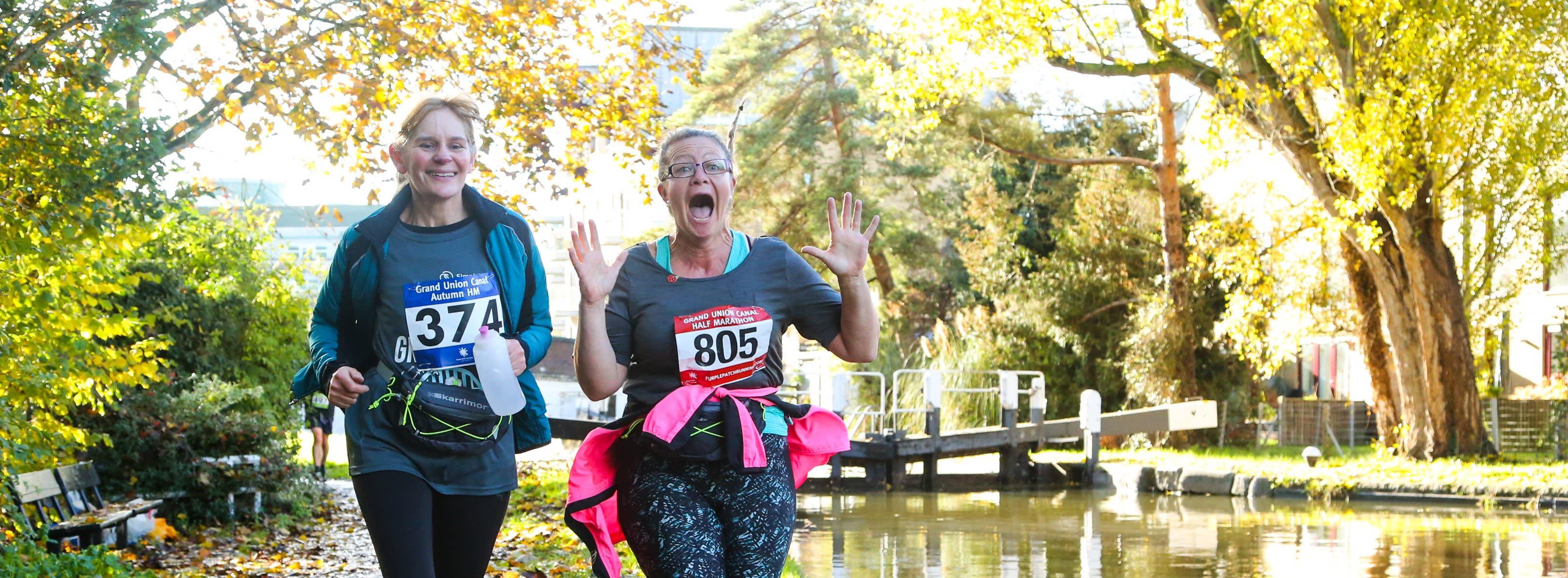 Grand Union Canal Half Marathon Autumn