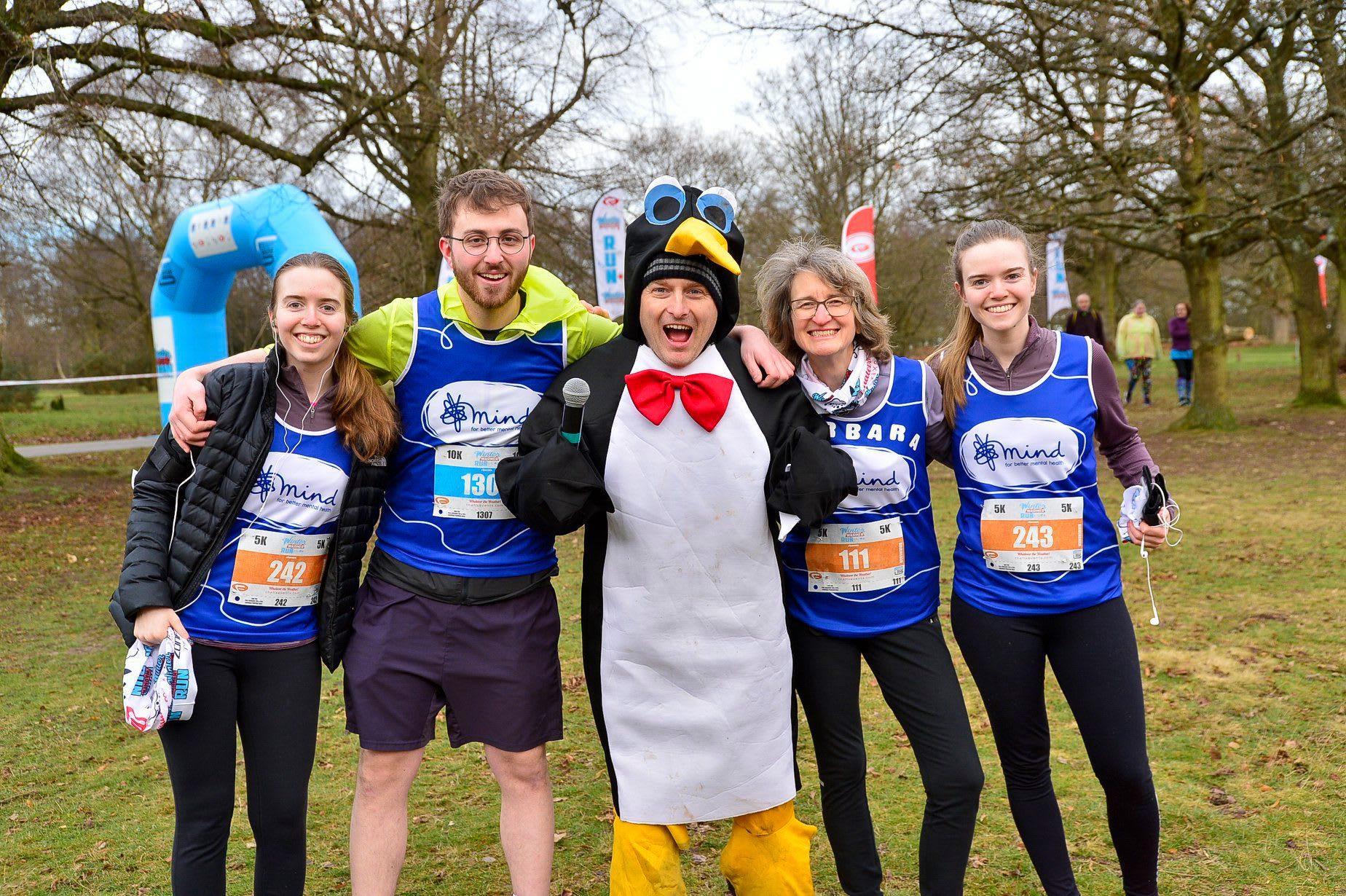 The Cardiff 5k and 10k Winter Warmer Run