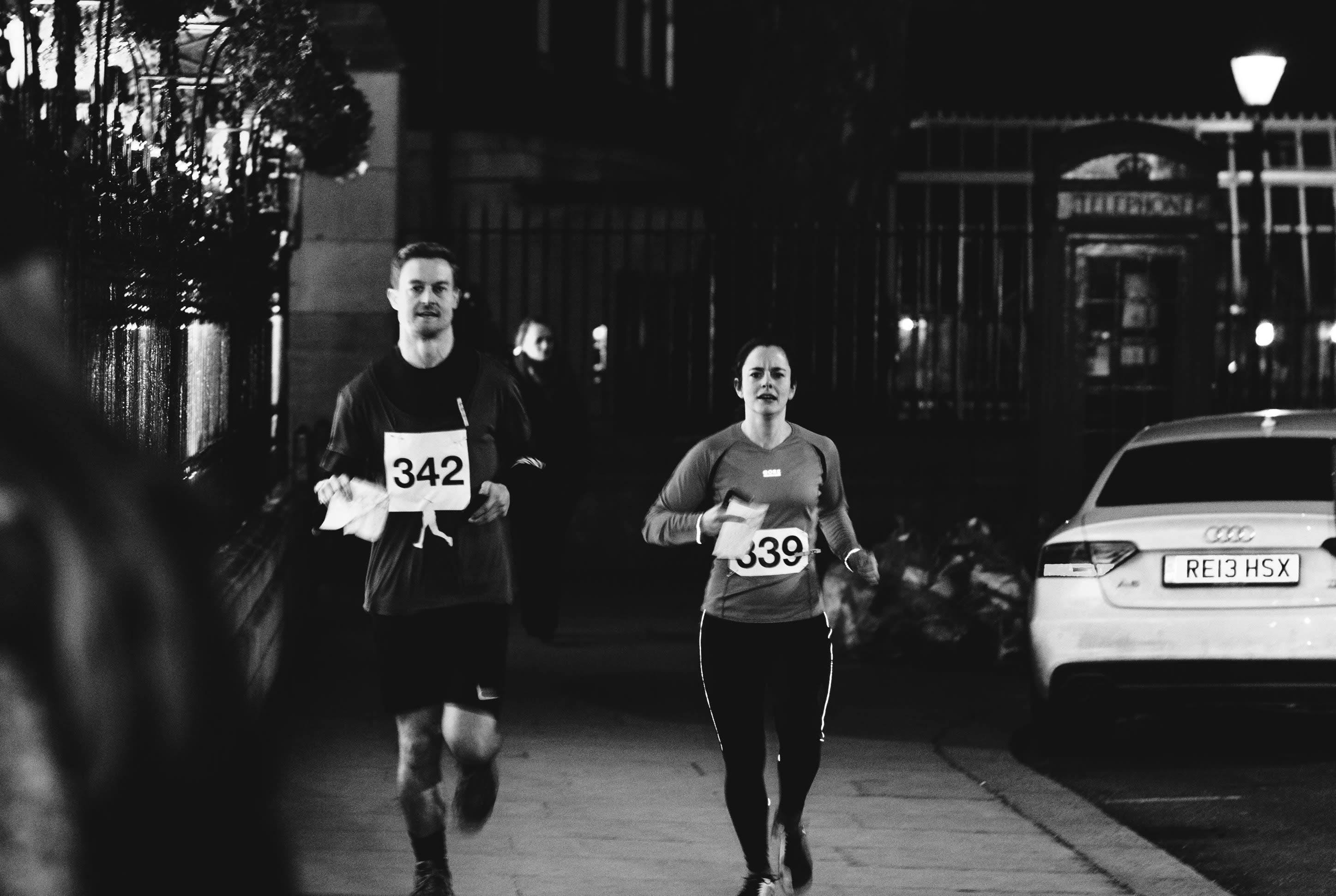 Jack the Ripper Running Tour (Steady 11 - 13 min/mile pace)
