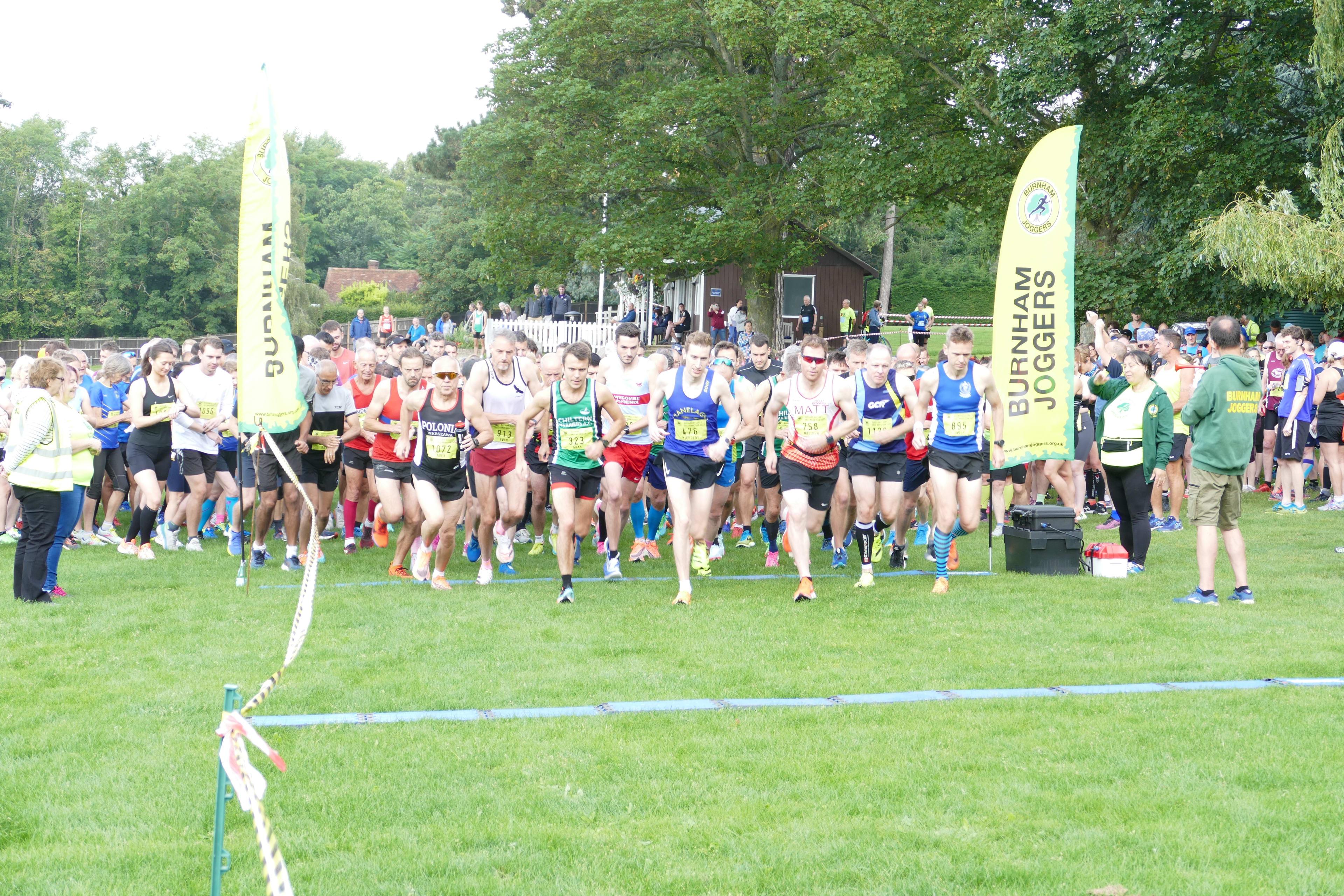 Burnham Beeches Half Marathon and 10k