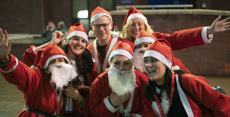 Santa In the City - Thursday