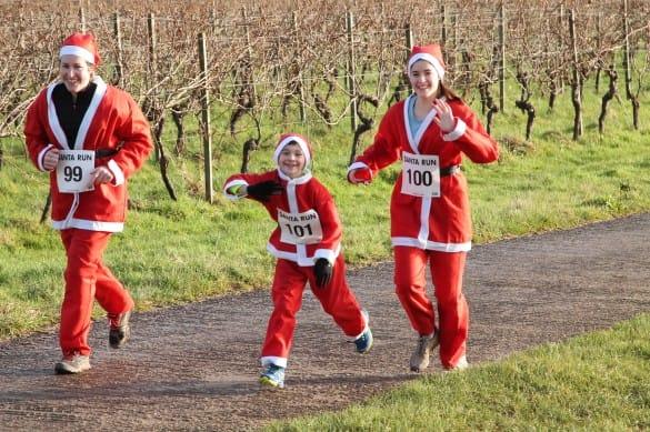 Denbies Santa Run