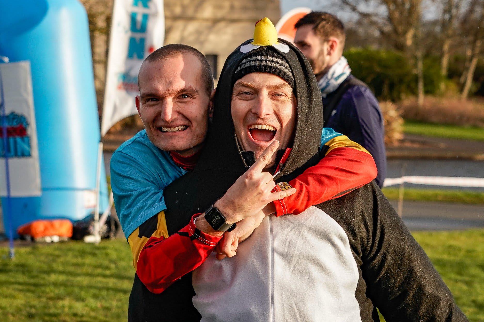 The Edinburgh 5k and 10k Winter Warmer Run