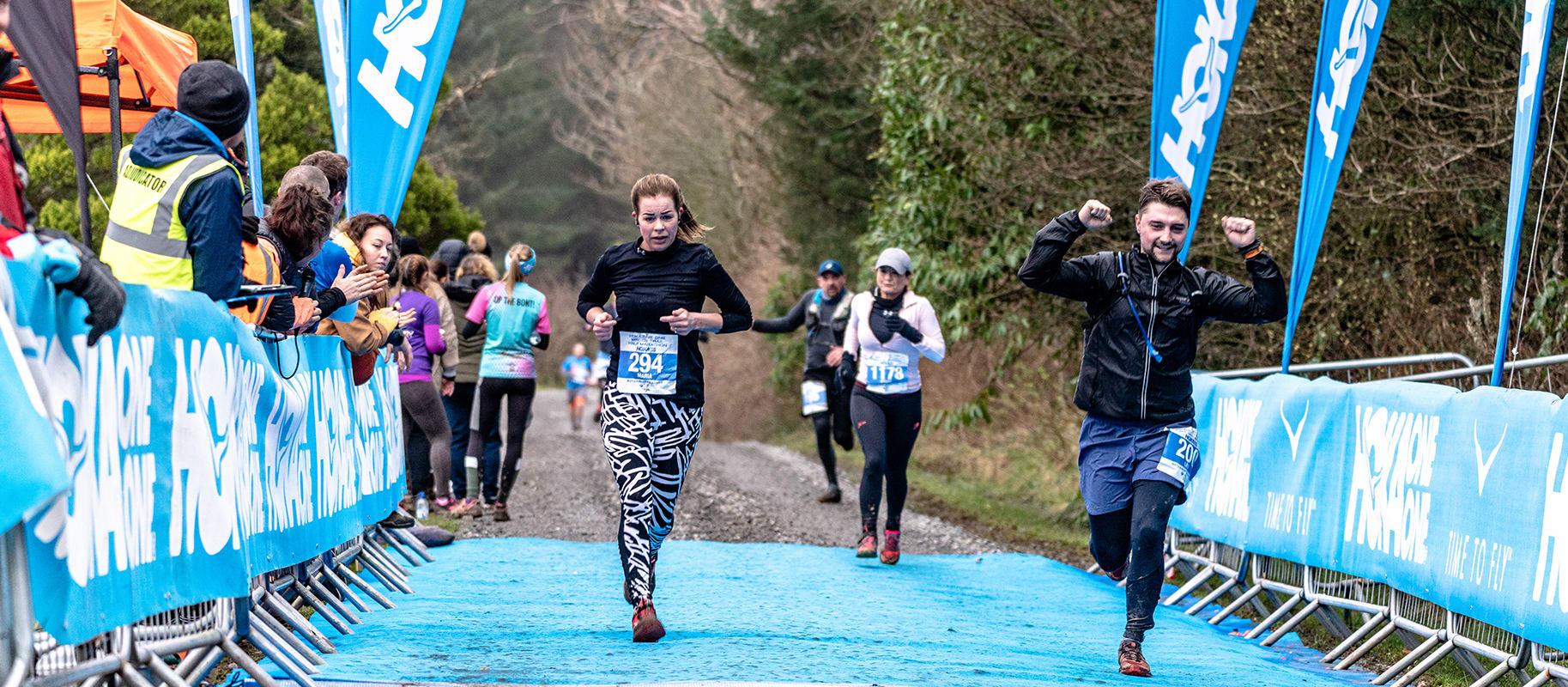 HOKA ONE Winter Trail Half Marathon
