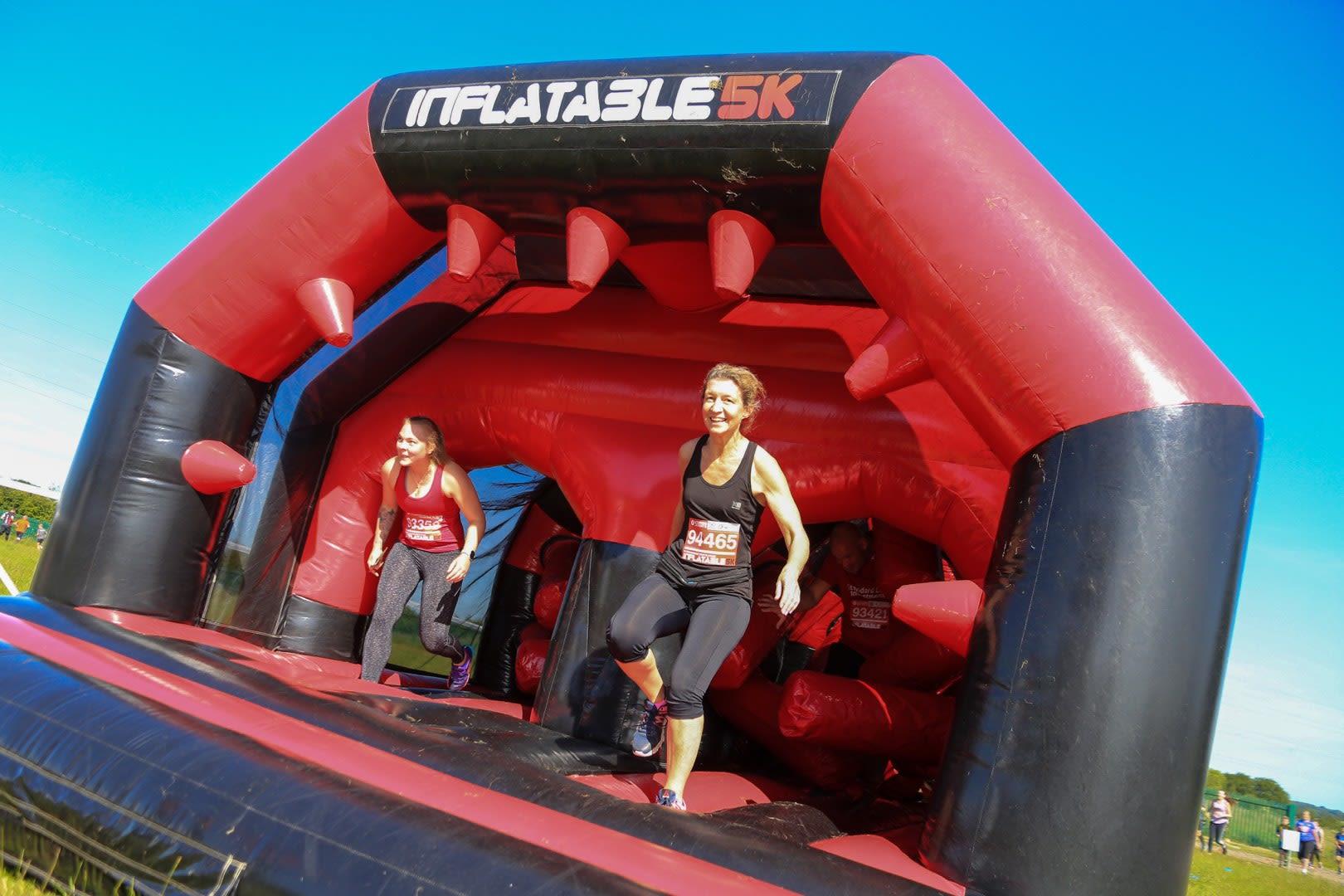 Inflatable 5k - Glasgow