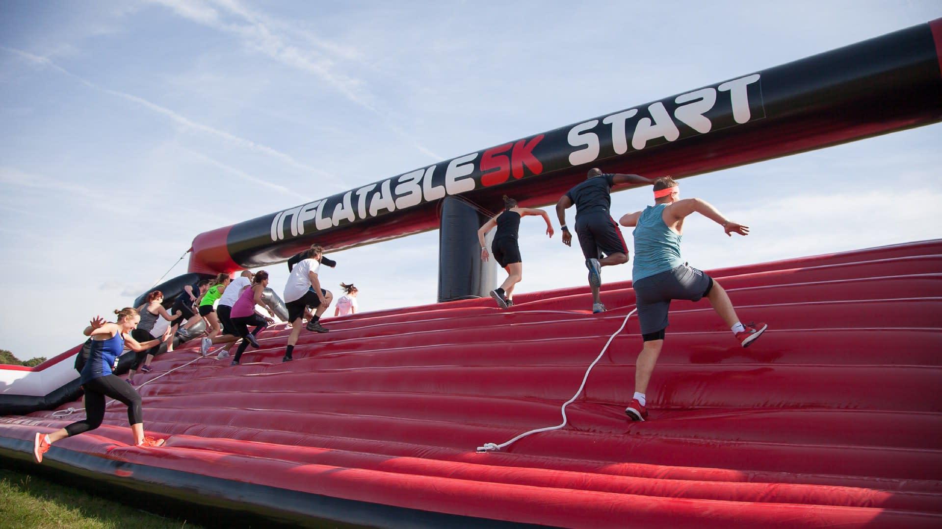 Inflatable 5k – Peterborough