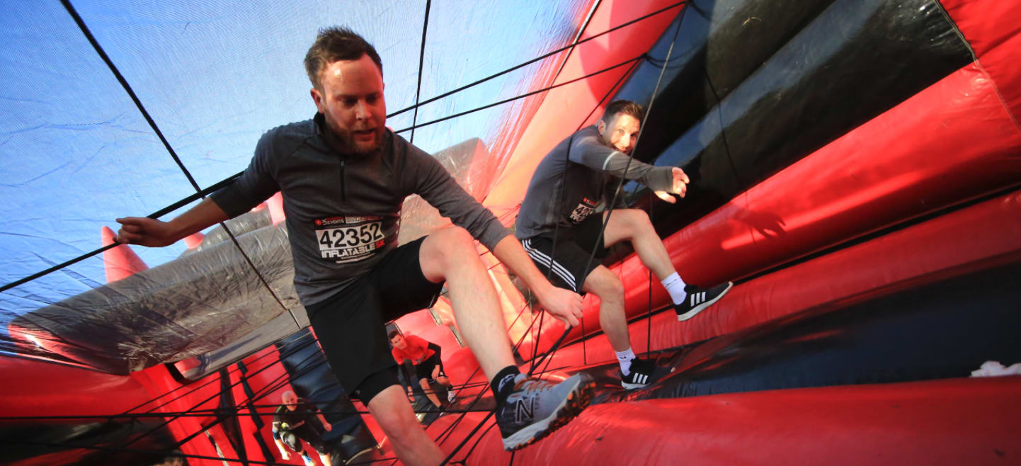 Inflatable 5k - P&J Live Aberdeen