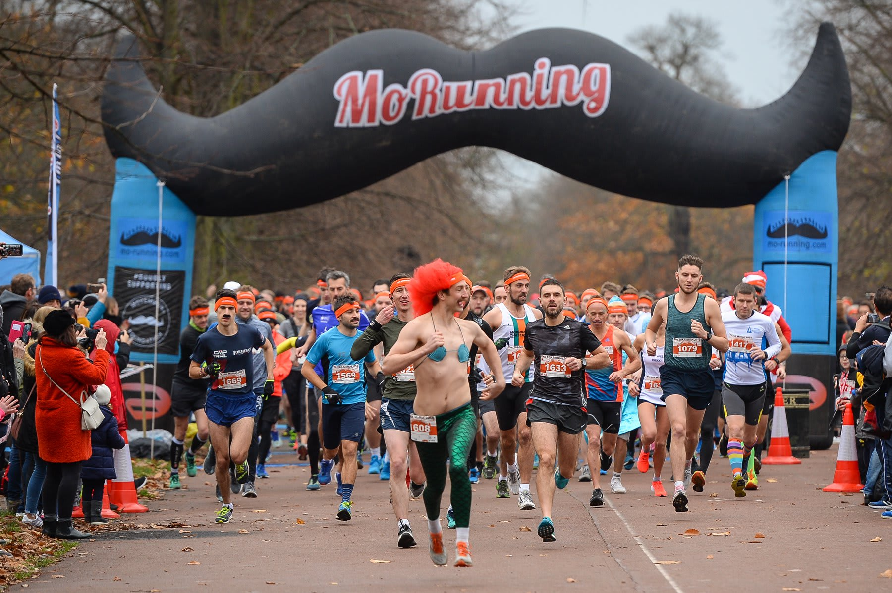 London 1.5k, 5k, 10k & Half Marathon MoRun