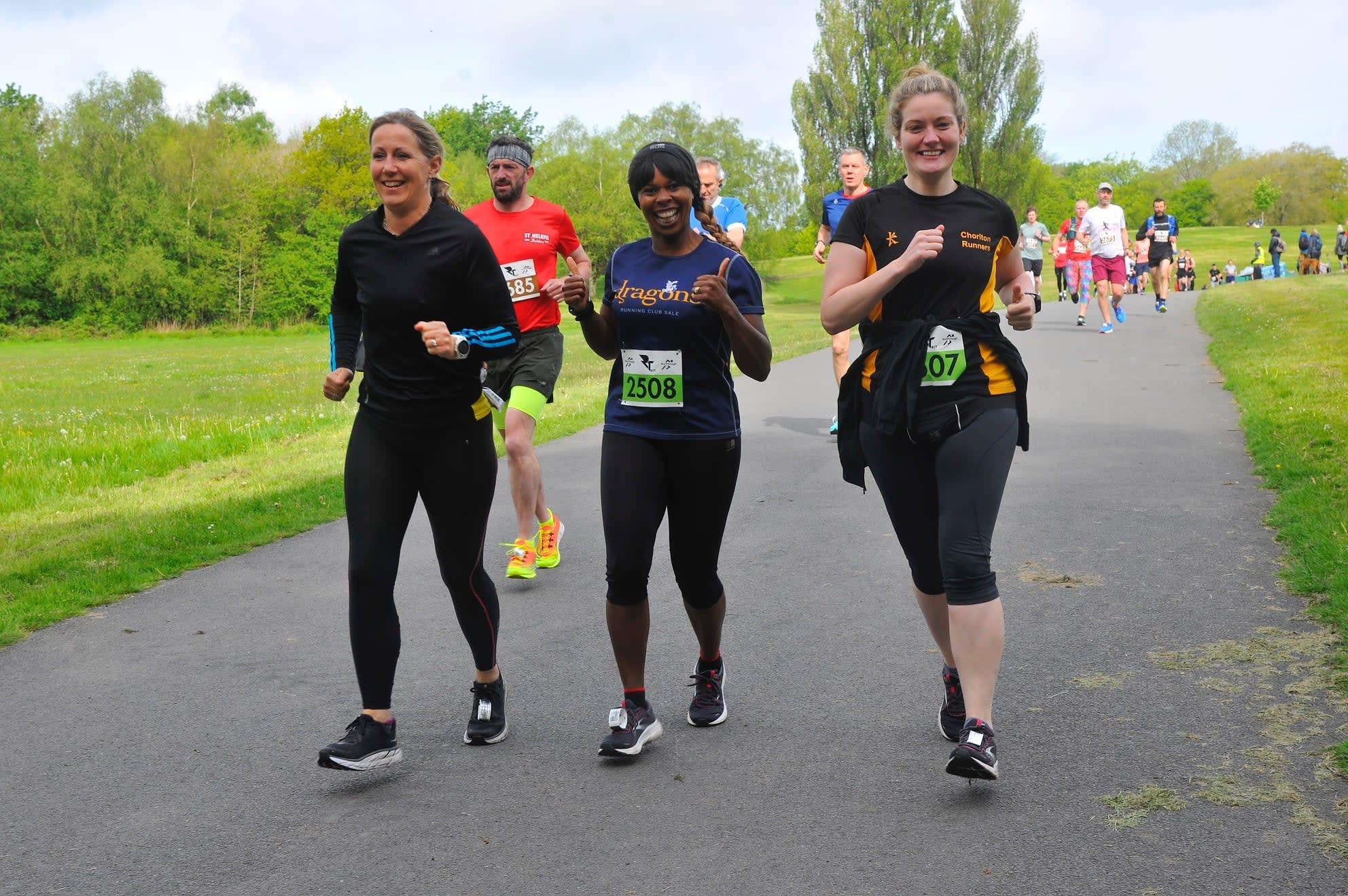 Chase The Sun Heaton Park 5k, 10k & 10 Mile - June
