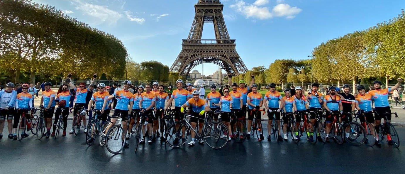 London to Paris Cycle Challenge - Mid June