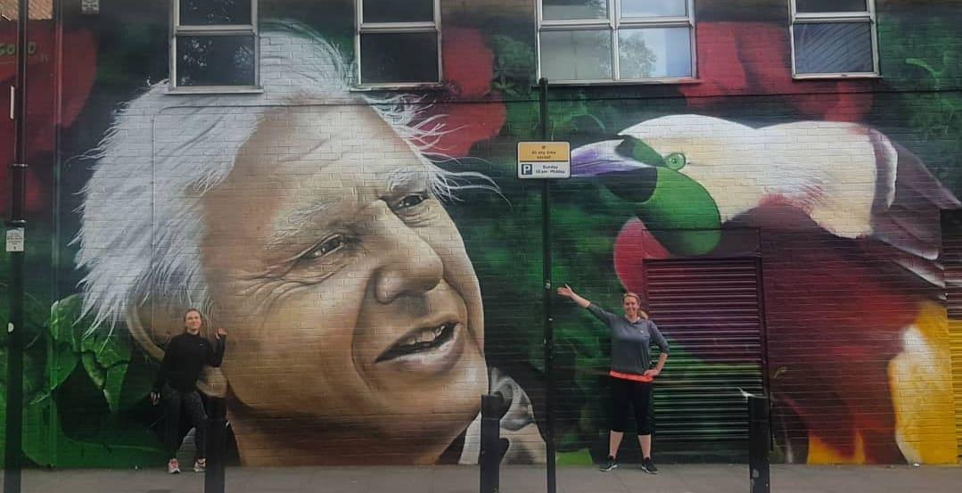 Shoreditch Street Art Running Tour (Steady 10 - 12 min/mile)