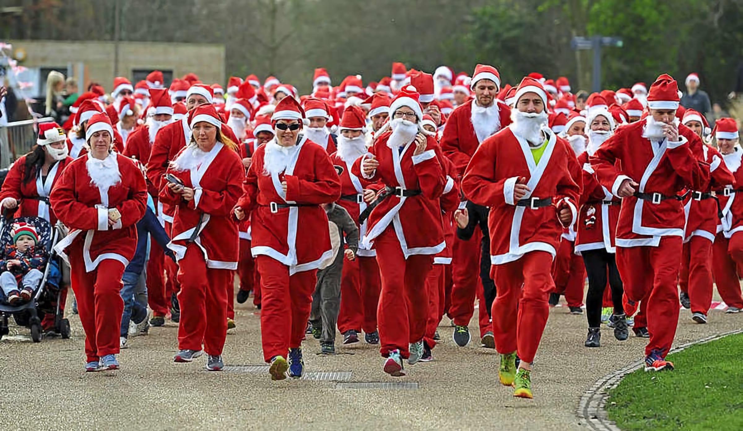Shropshire Santa 5k Run