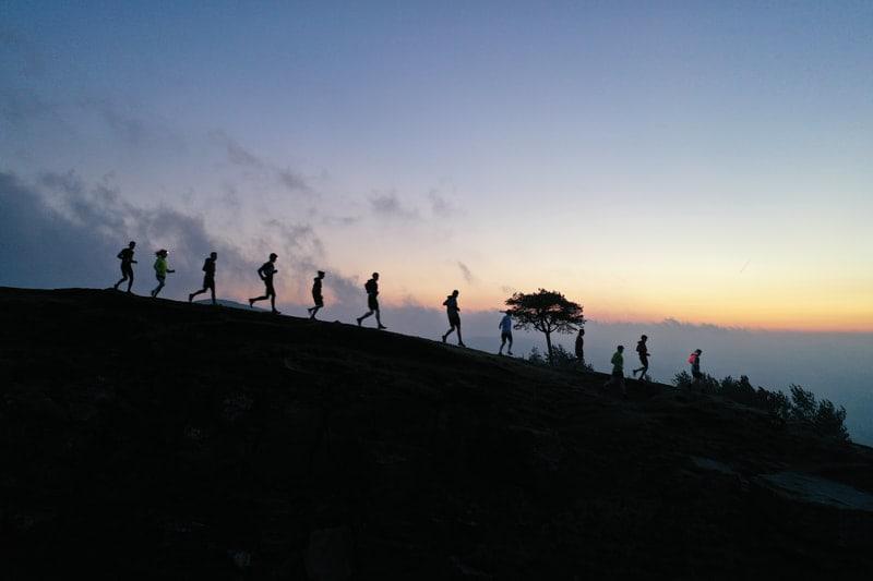 Pop-up Running Adventures - January