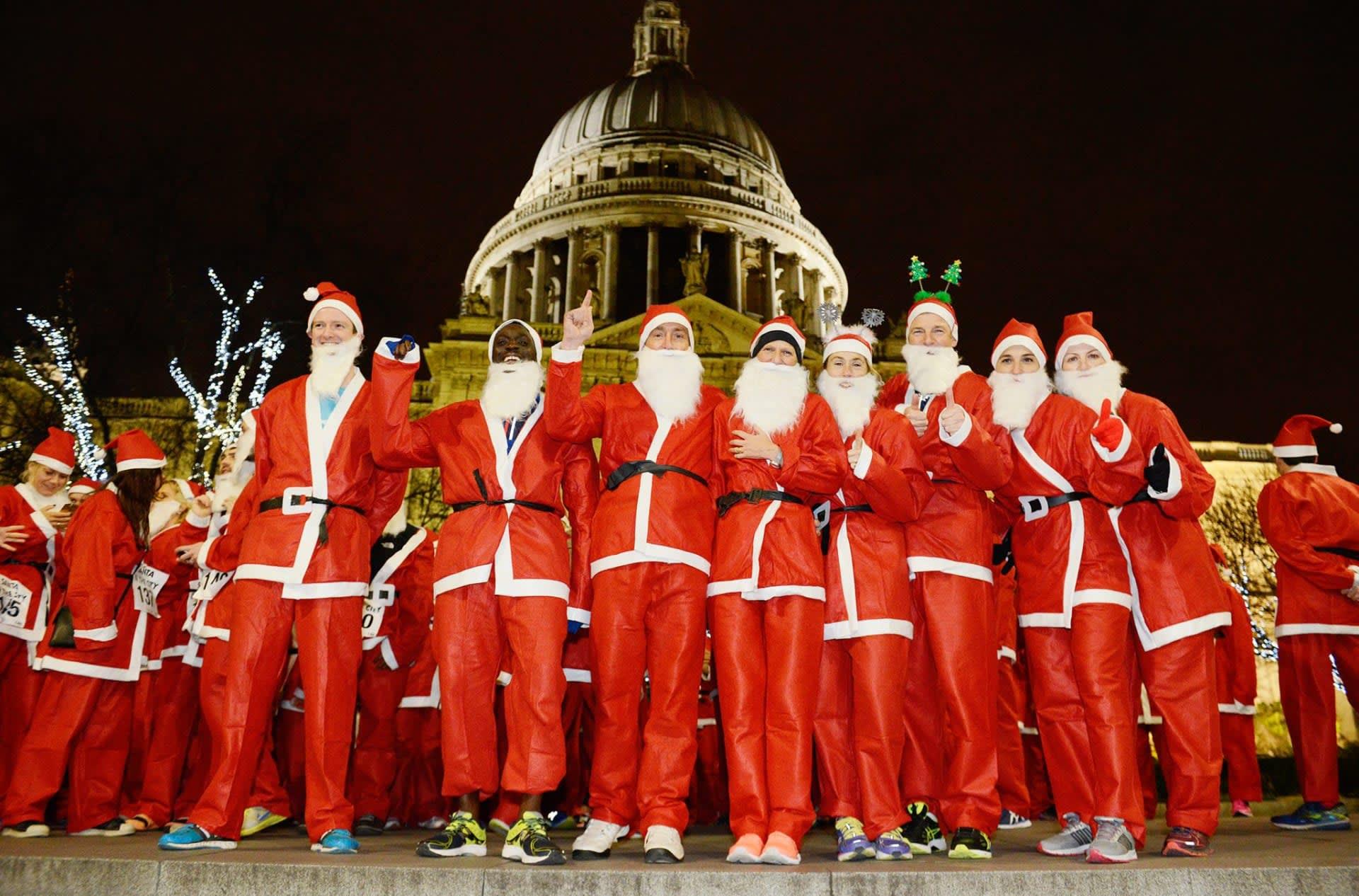 Virtual Santa in the City