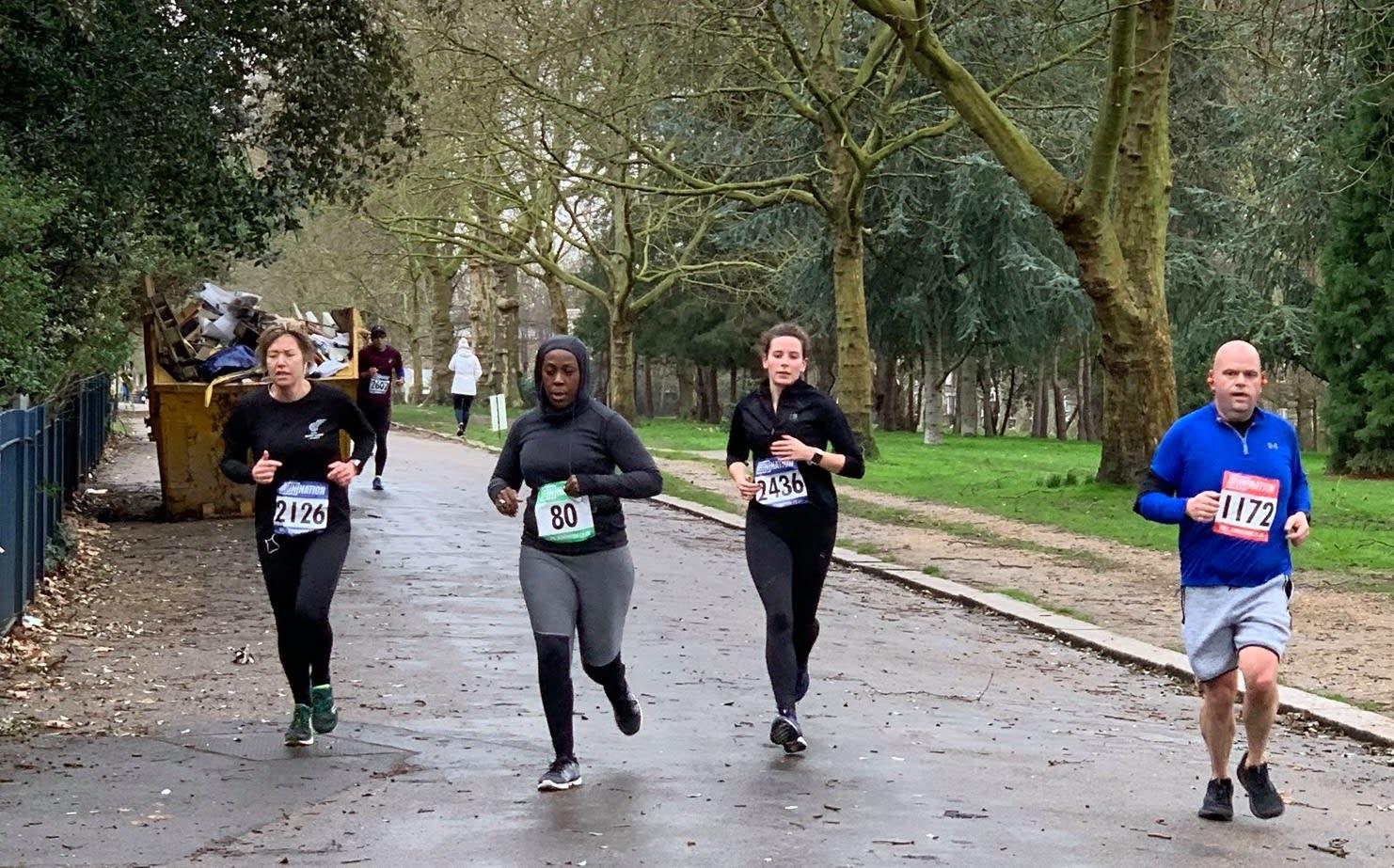 Run London Victoria Park October 5k, 10k, Half Marathon