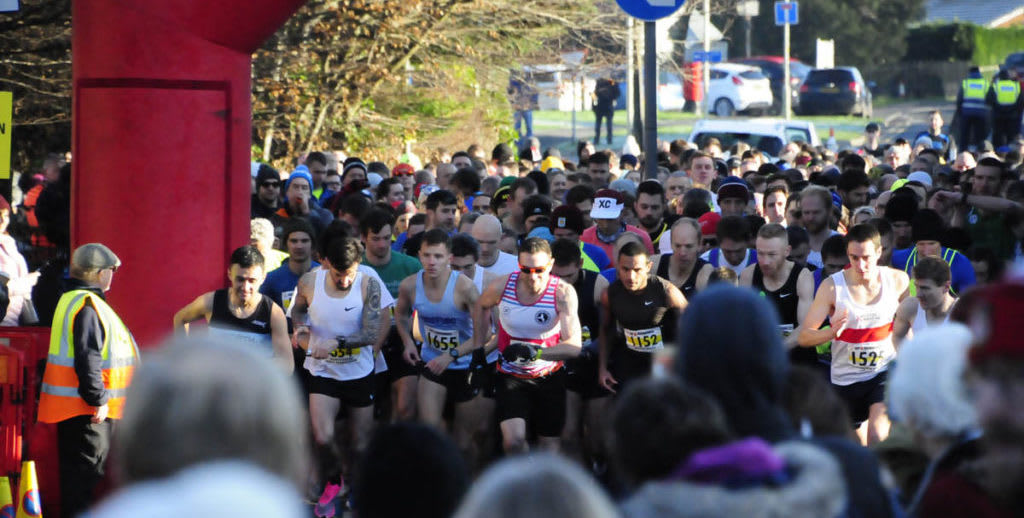 Gloucester Winter Marathon, Half Marathon & 50k
