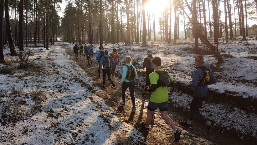North Downs Way Ultra Run - October