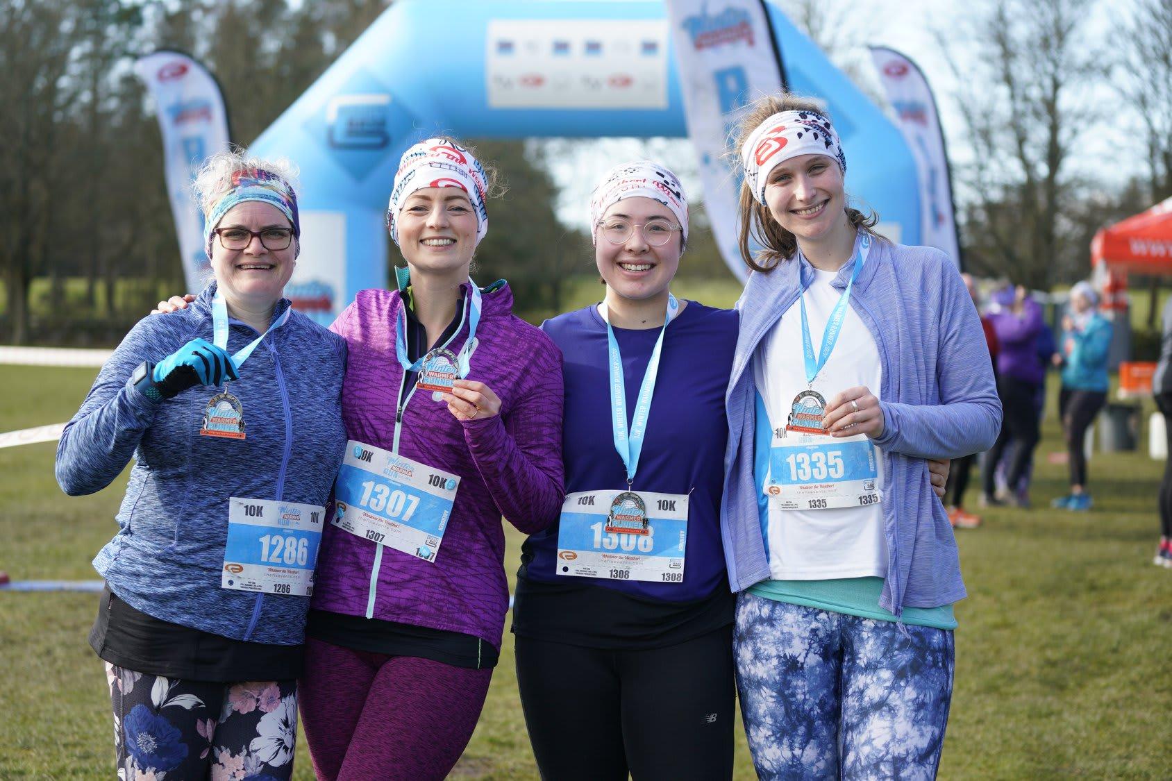 The Manchester 5k and 10k Winter Warmer Run
