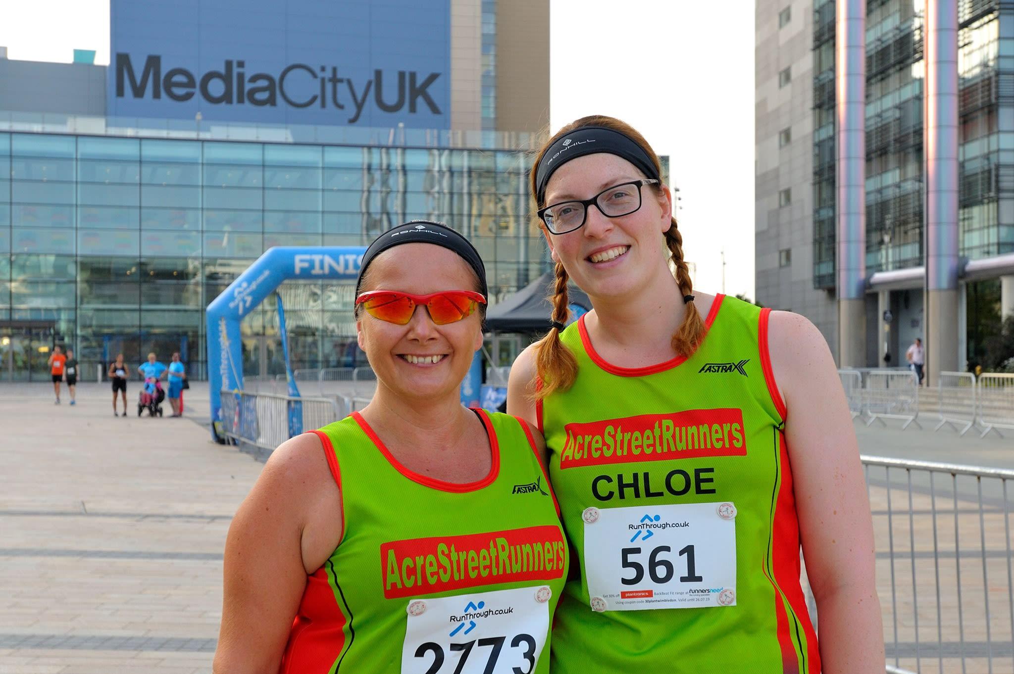 Run Media City 5k and 10k - August