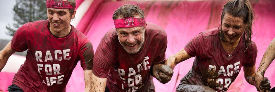 Pretty Muddy Race for Life - Swansea 5k