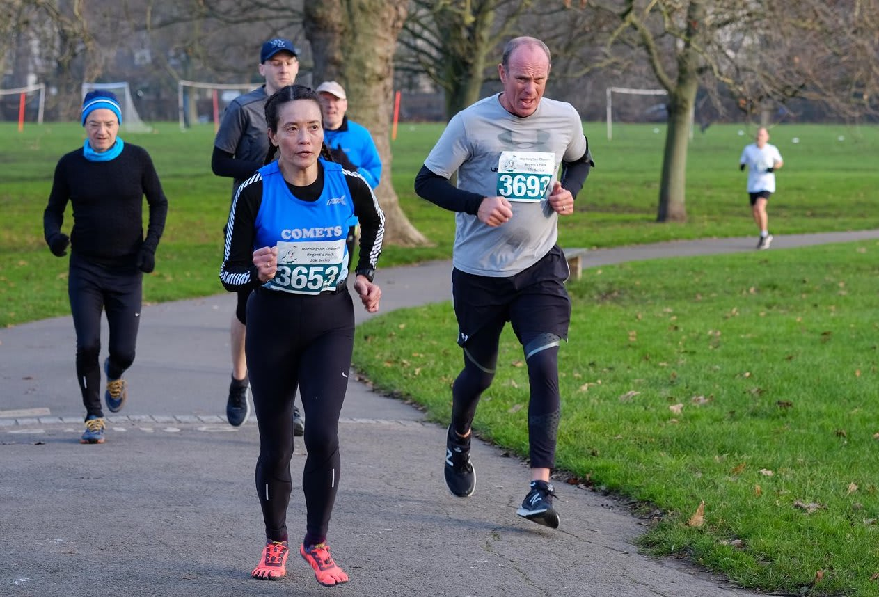 The Regent's Park 10k Winter Series by the Mornington Chasers - December