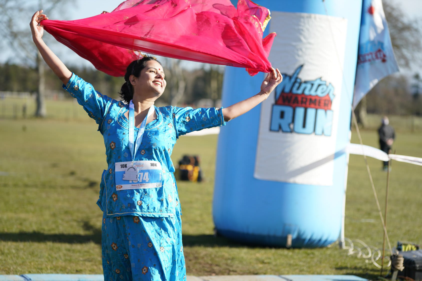 The London 5k, 10k and Half Marathon Winter Warmer Run