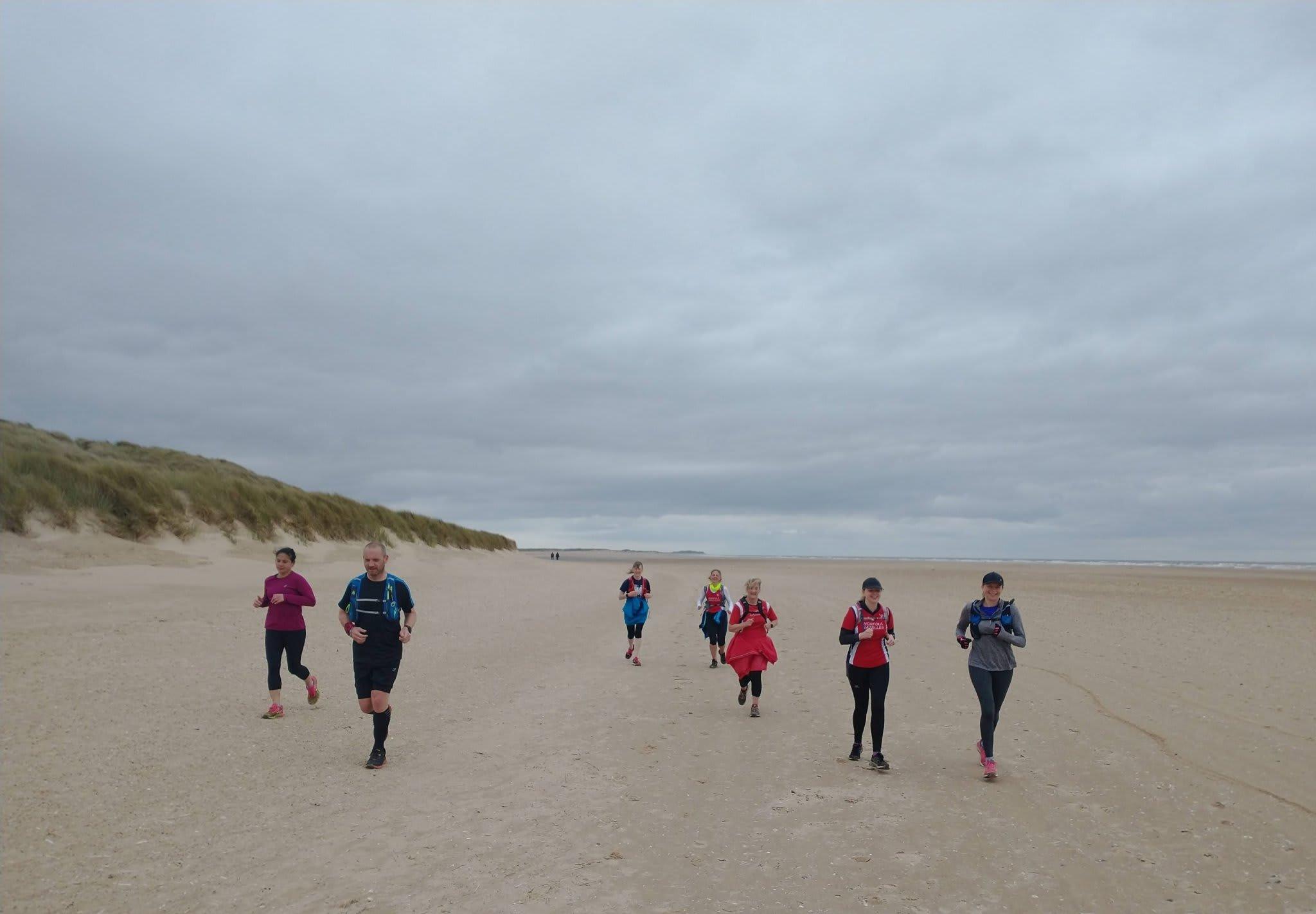 Coastal Guided Trail Run Spring Edition