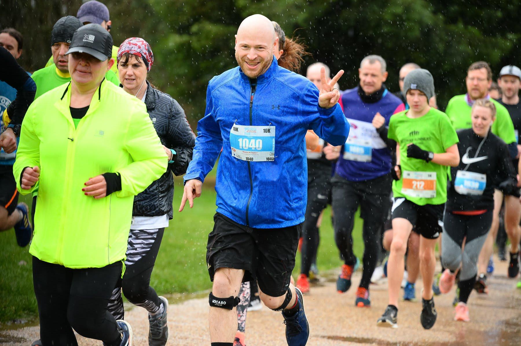 The Milton Keynes 5k and 10k Winter Warmer Run