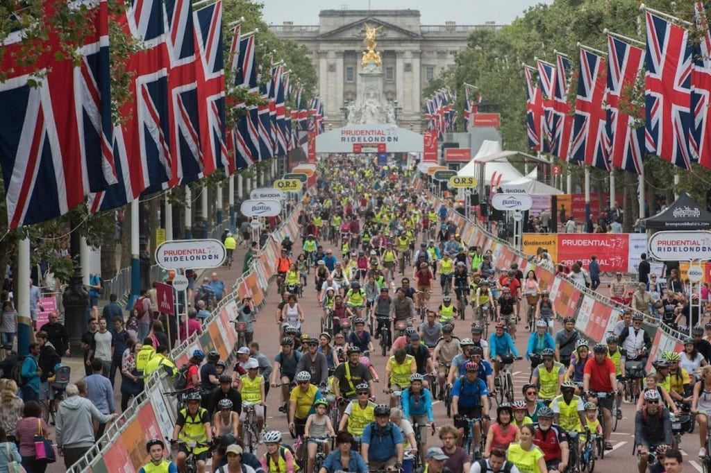 Prudential RideLondon 100 2020 — Sun 16 Aug — Book Now at Let's Do This