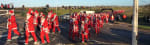 Draycote Water, Santa Dash 10K and 5 Mile - December