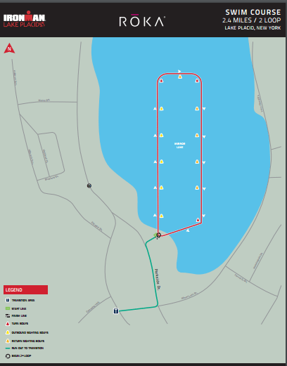 Lake Placid New York Map.Ironman Lake Placid 2019 Sun 28 Jul Book Now At Let S Do This