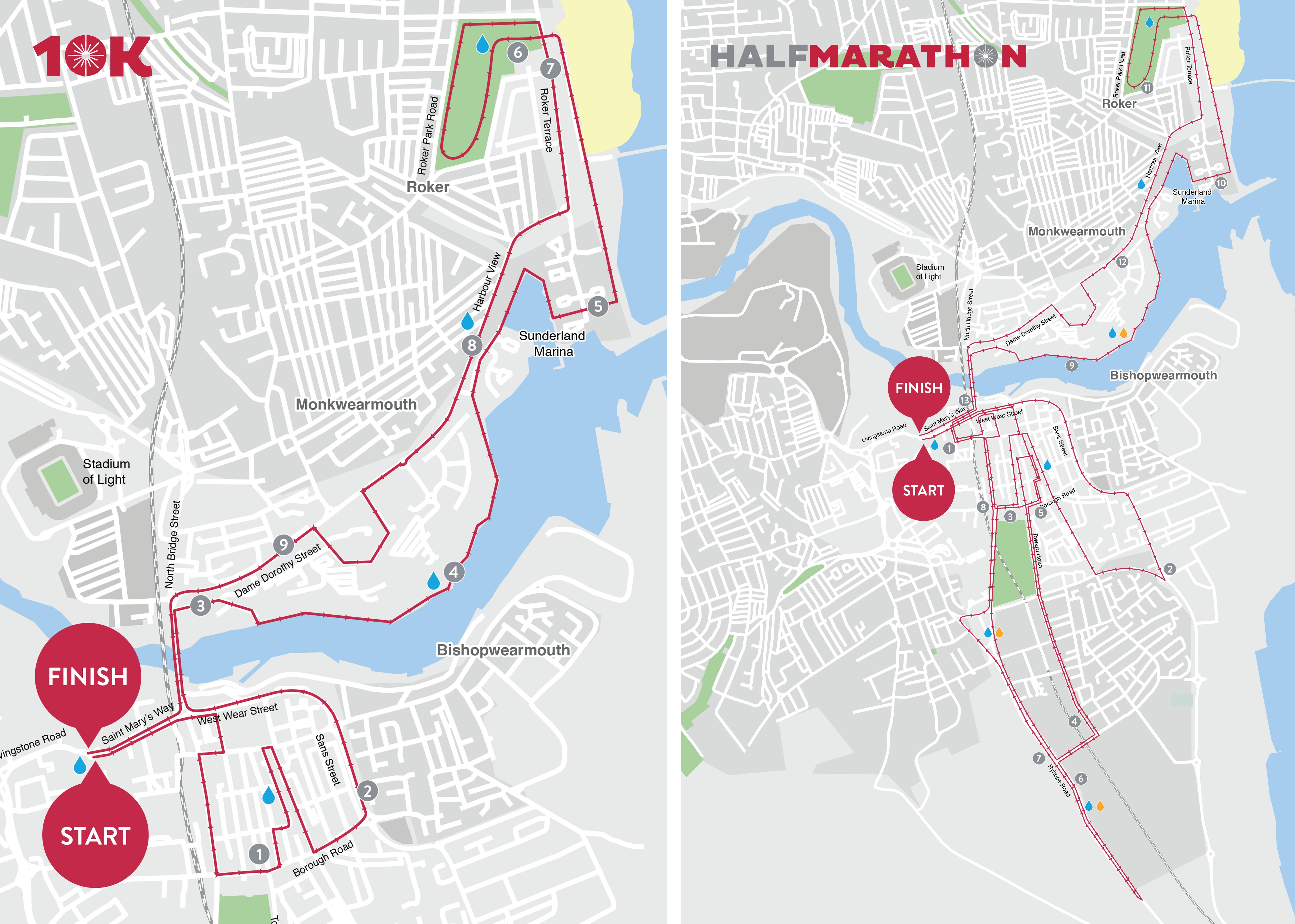 Sunderland City Half Marathon & 10K 2019 — Sat 11 May — Book Now at ...